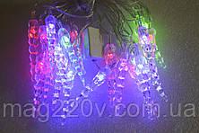 """Новогодняя светодиодная гирлянда """"сосульки"""""""