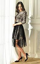 Женское леопардовое платье со съемной юбкой (3332 lp), фото 3