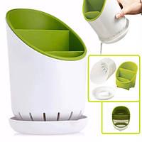 Підставка для фраже R85501 пластик, 11 * 19см, кухонне приладдя, лоток для столових приладів, посуд, кухня