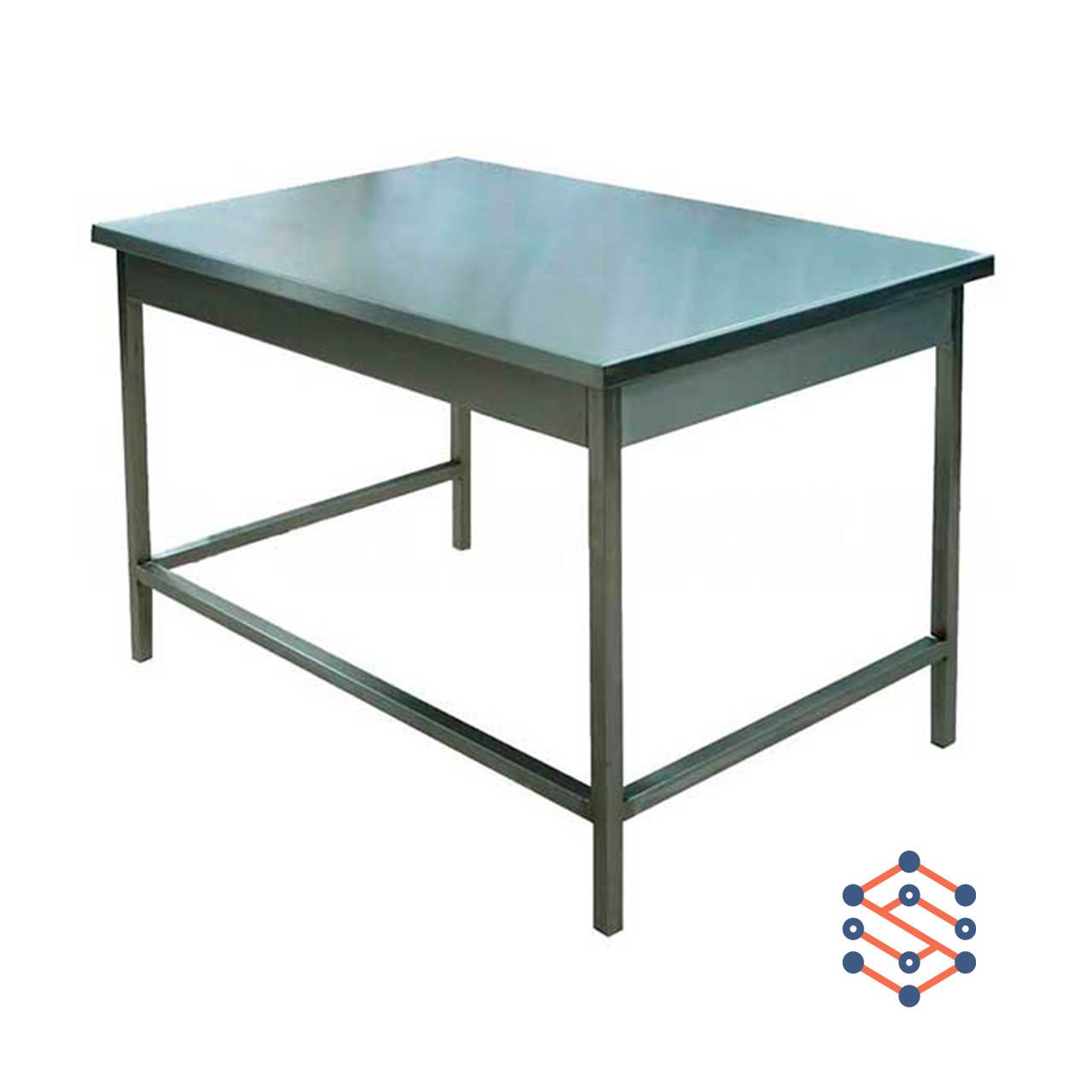 Стол производственный без борта, без полки (1100*600*850)