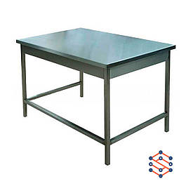 Стол производственный без борта, без полки (600*600*850)