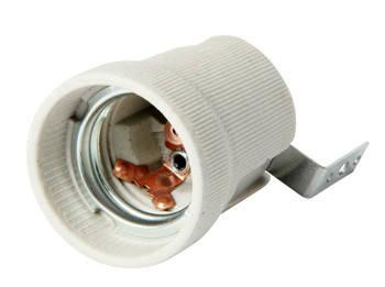Патрон керамический e.lamp socket.Е27.cer