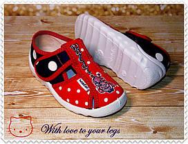 Тапочки для девочки ТМ Waldi, фото 2