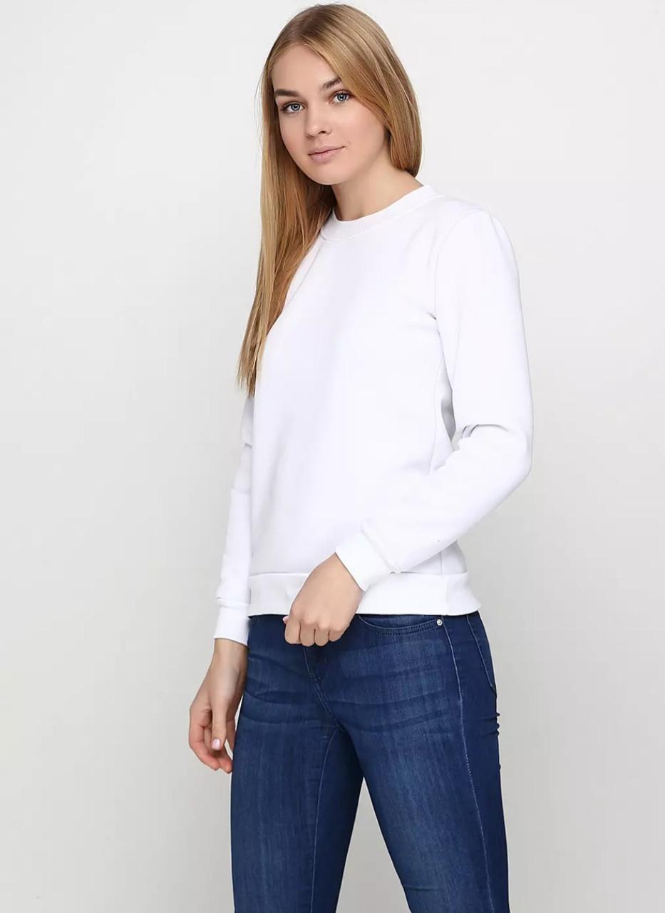 ca75f8cea1417 Свитшот женский, белый теплый, цена 270 грн., купить в Одессе — Prom ...