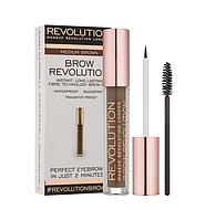 Гель для бровей Makeup Revolution Brow Revolution - Medium Brown