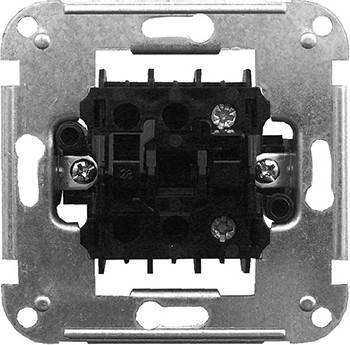 Механизм e.mz.11172.sw.l выключателя одноклавишного с подсветкой