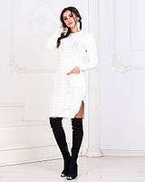 Платье - туника вязанная