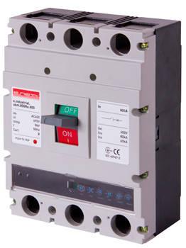 Силовой автоматический выключатель с электронным расцепителем e.industrial.ukm.800Rе.800