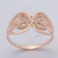 Кольцо бабочка золотое ГП20575