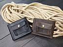 Мужской кожаный кошелек ТУР, фото 2