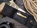 Мужской кожаный кошелек ТУР, фото 4
