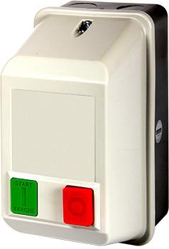 Магнитный пускатель e.industrial.ukq.9mb, 9А, 400V