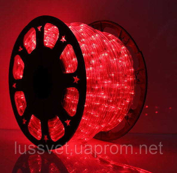 Дюралайт красный Delux LRLx2 LED