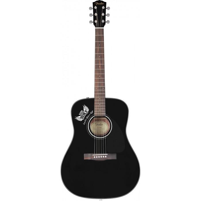 Акустична гітара FENDER CD-60 RADIO ROKS SPECIAL RUN BLACK