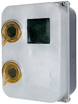 Шкаф пластиковый e.mbox.stand.plastic.n.f3 под трёхфазный счетчик, навесной, с комплектом метизов