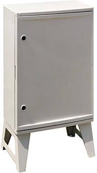 Шкаф ударопрочный из АБС-пластика e.plbox.nap.500.700.245.3f.16m.8m., Blank, 500х700х245мм, IP65, с панелью под 3 - фазный счетчик и 16 модулей и 8