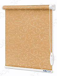 Рулонные шторы Акант светло-коричневые