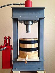 Пресс для отжима масла на 3 литра с гидроцилиндром на 30тонн. Холодный отжим