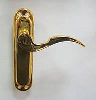 Дверные ручки Fuaro Semfonia Kut L62  GP золото