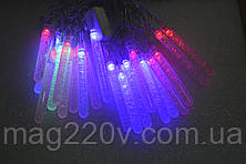 """Новогодняя светодиодная гирлянда """"столбики с пузырьками"""""""