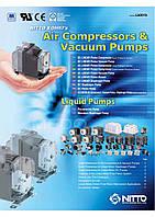 Воздушные компрессоры и вакуумные насосы NITTO KOHKI(Япония)