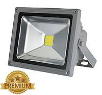 Светодиодный прожектор LEDEX 20W, 220V, IP65, Premium, 1800lm, 6500K белый холодный