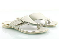 VM-Villomi Кожаные шлепанцы белого цвета
