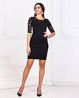 2915f7b4fac Платье черное гипюровый рукав в категории платья женские в Украине ...