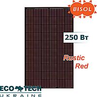Солнечная панель BISOL Spectrum Rustic Red 250 Wp поликристалл, цвет Красный Рустик, фото 1