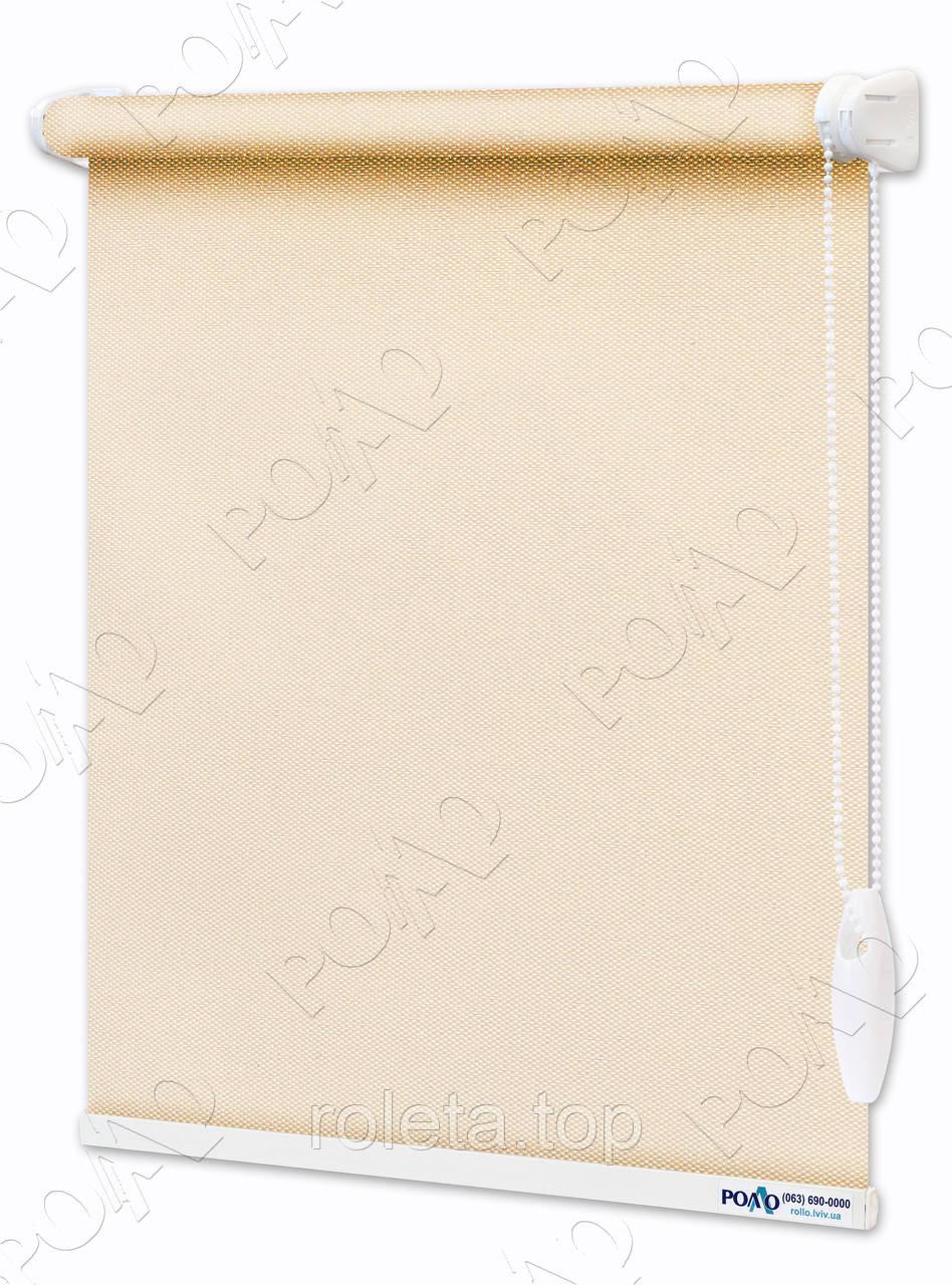Рулонные шторы Blackout - Полное затмение Персиковый
