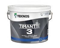 Краска для влажных помещений TEKNOS TIMANTTI 3 антисептическая 2.7 л