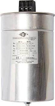 Самовосстанавливающийся цилиндрический конденсатор для коррекции коэффициента мощности 30 кВАр, 400В (36,4 кВАр 440В)