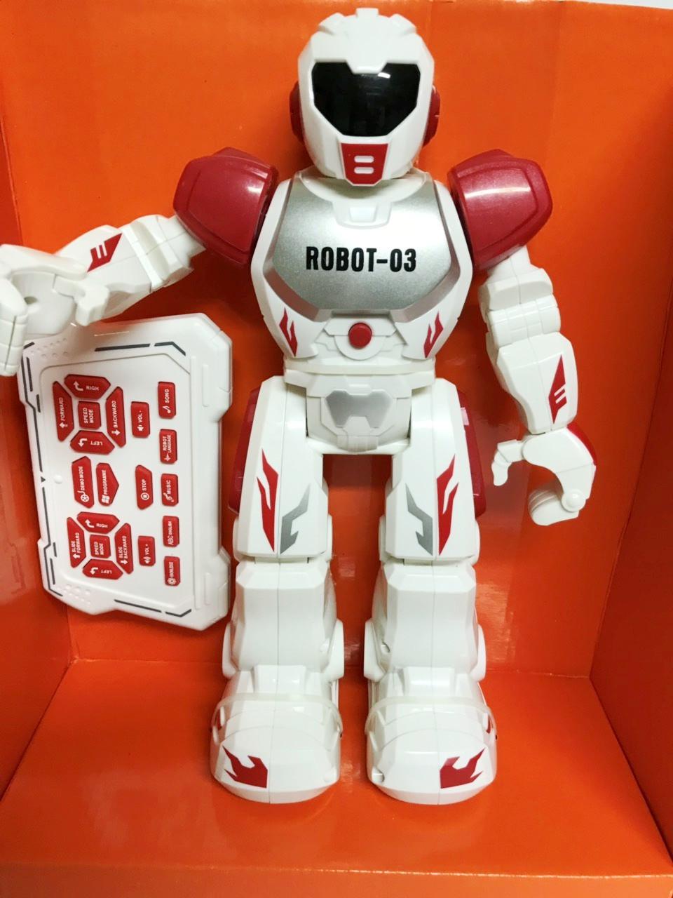 Робот на радиоуправлении ROBOT-03 (красный)