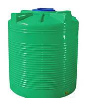 Емкость 500 л. вертикальная, двухслойная зеленая
