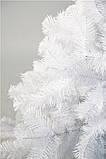 Елка искусственная ПВХ 180 см. Ёлка белая 1,8 метра, фото 2