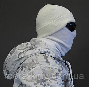 Маскировочный костюм маскхалат белый - multicam alpine + шапка + бафф + очки 5.11 (mk2)