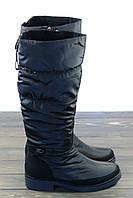 Зимние сапоги дутики черные Prima D'arte, фото 1