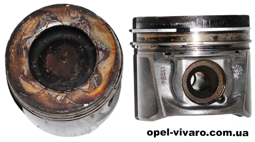 Поршень 2,5-2-2 2.3 DCI rn Opel Movano 2010-2018 120A17400R