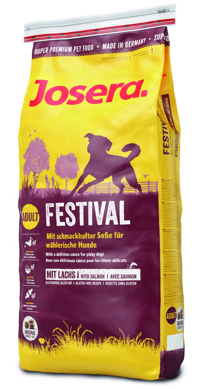 d366926a955bf4 Йозера Фестиваль Josera Festival корм без глютена для привередливых собак с  лососем 15 кг