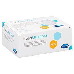 HydroClean Plus 10 x 10 см - Гидроактивная суперабсорбирующая раневая повязка, 10 шт