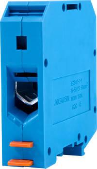 Клеммная колодка наборная на DIN -рейку e.tc.din.pro.50.blue, синий