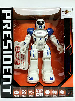 Робот на радиоуправлении ROBOT-03 (синий)