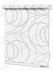 Ролети Тканинні Геометрія Світло-сірі
