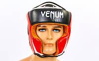 Шлем боксерский в мексиканском стиле кожаный VENUM
