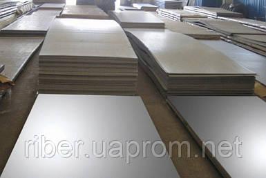 Лист н/ж толщиной 2мм - 1000х2000мм, AISI 304 (08Х18Н10), 2В
