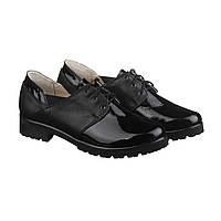 VM-Villomi Кожаные туфли с лаковыми вставками