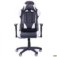 Кресло VR Racer Blade черный/белый TM AMF