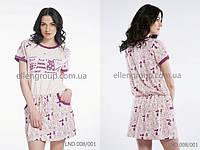 Домашнее платье ELLEN с котиками Размер L, фото 1