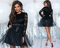 040068b65c4 Короткое платье трикотаж гипюр оптом в Украине. Сравнить цены ...