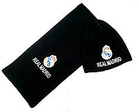 Комплект шапка и шарф ФК Реал Мадрид